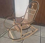 "Кресло-качалка ""Ротанг"" черная, фото 6"
