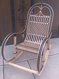 "Кресло-качалка ""Ротанг"" черная, фото 7"
