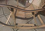 "Кресло-качалка ""Ротанг"" черная, фото 8"