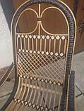 "Кресло-качалка ""Ротанг"" черная, фото 9"
