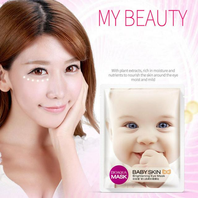 BIOAQUA Baby Skin Soft White Moisturizing Eye Mask