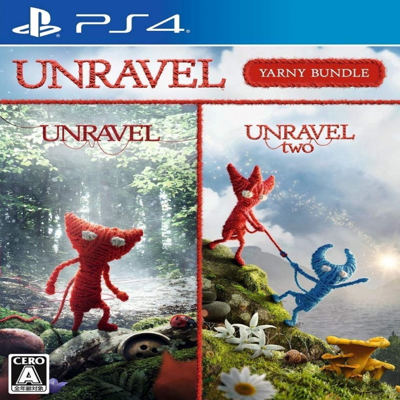 Unravel/Unravel 2 ENG PS4