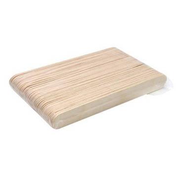 Деревянные шпатели Широкие 50 шт