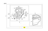 Дверь задняя правая седан Aveo 3 Вида, ЗАЗ, sf69y0-6200030, фото 6