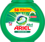 Капсули ARIEL Vollwaschmittel All-in-1 PODS Universal, 58 шт