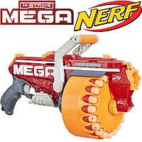 НЁРФ МЕГА Мегалодон бластер со стрелами, Nerf Mega Megalodon E4217