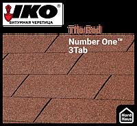 Битумная черепица IKO Number One™ 3Tab Tile Red 3 м.кв./уп.