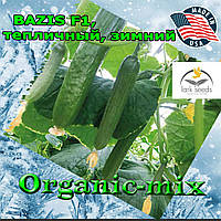 Огурец для зимних теплиц БАЗИС F1 / BAZIS F1, упаковка 1000 семян, Lark Seeds (США)