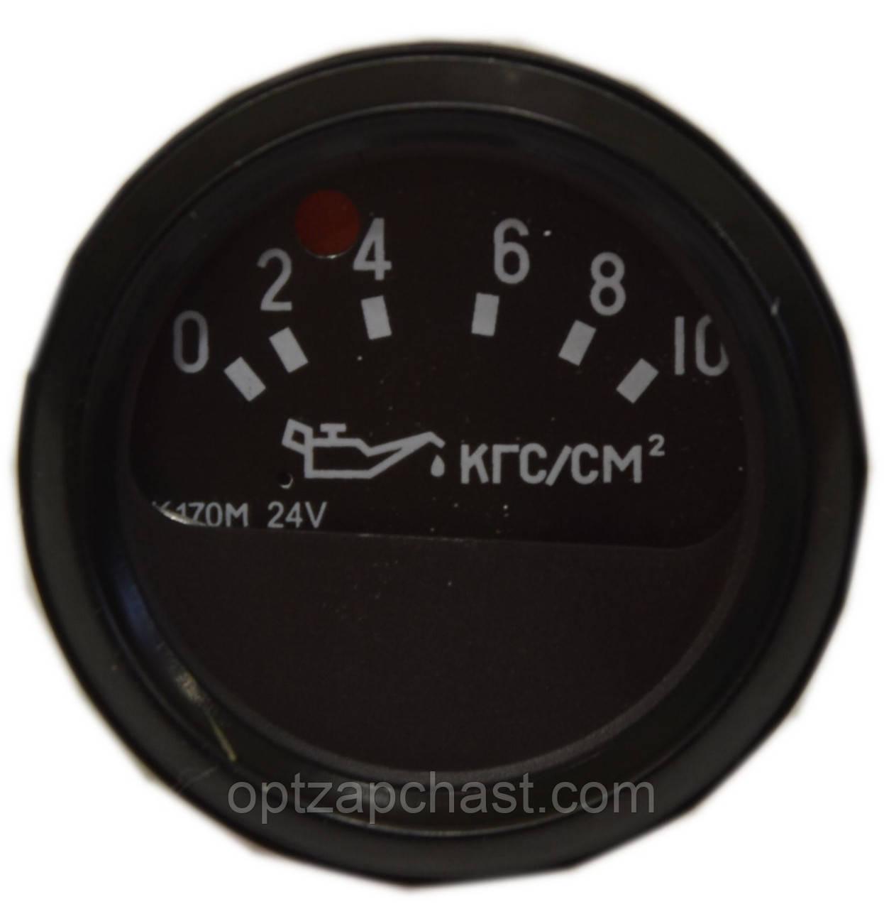 Указатель давления масла электрический КамАЗ 10 МПа 24 Вт