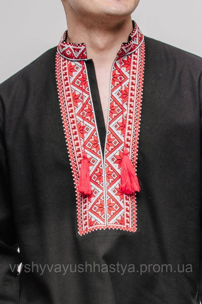 Рубашка мужская «Чугайстер» черная