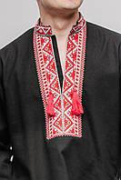 Рубашка мужская «Чугайстер» черная, фото 1