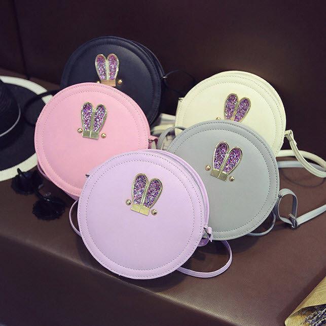 Круглая сумочка с ушками