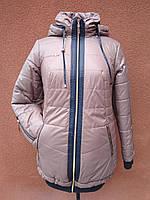 Зимняя длинная куртка с резинкой Kristin, фото 1