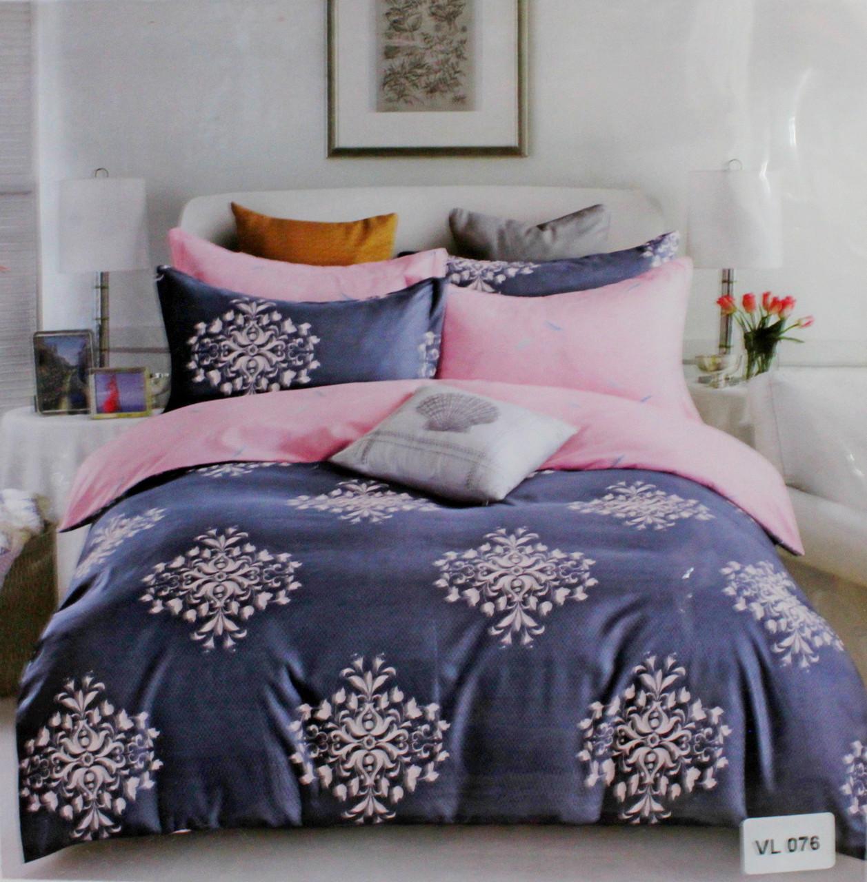 Комплект постельного белья микровелюр Vie Nouvelle Velour 200х220  VL076