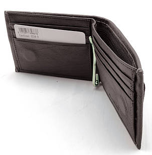 Натуральная кожаный мужской кошелек Cardinal Коричневый (033-D), фото 2