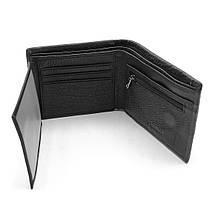 Мужской кожаный кошелек Cardinal 12,5 x 10,5 x 2,5 см Черный (c235-a/1), фото 2