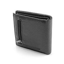 Мужской кожаный кошелек Cardinal 10 x 10 x 2,5 см Черный (c045-b-a/1), фото 2