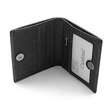 Мужской кожаный кошелек Cardinal 9 x 10,8 x 1,5 см Черный (c044-a/1), фото 2