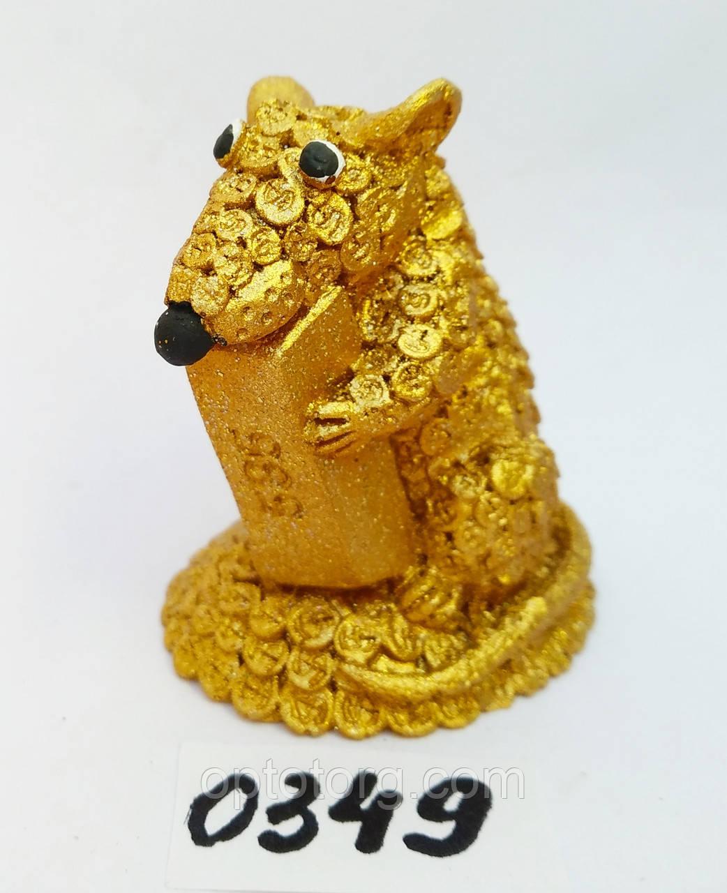 Сувенир статуэтка Символ года 2020 размер 6*4*5,5 см