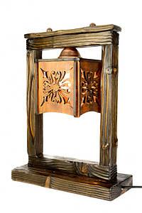 Настольная лампа Рамка коричневая