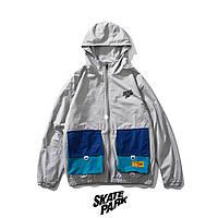 Куртка, ветровка Skatepark Grey унисекс