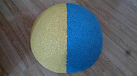 Бетонная полусфера, парковочные бетонные ограждения Голубой