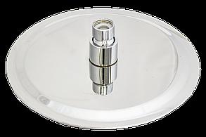 Душ верхний 150 мм круглый на шарнире из нержавеющей стали, фото 3