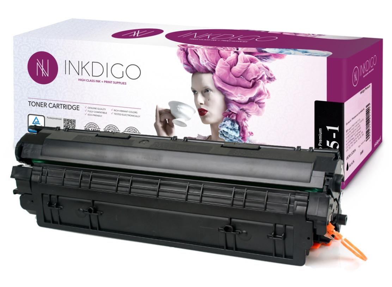 Совместимый картридж Canon 725 аналог от InkDigo™, лазерный, чёрный, 1.600 копий (CA-725-1).