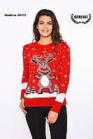 Женский свитер с Оленем В4727 (03), фото 1