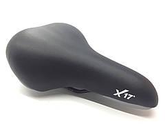 Седло X17 MTB (02), широкое, пухлое, черн.