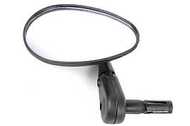 """Зеркало X17 овальное 3"""" с креплением в трубу руля"""