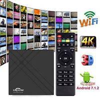 Смарт ТВ бокс EACHLINK H6 Mini TV Box 3/32Гб 6К разрешения Андроид 7.1 USB3.0