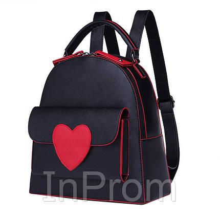 Рюкзак Bobby Love Black, фото 2