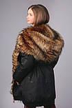 Зимова куртка подовжена парку, ТМ Моне р. 122, 128,134, 146, 152, 158, 164, фото 8