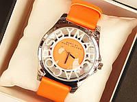 Женские (Мужские) кварцевые наручные часы Marc Jacobs на кожаном ремешке, фото 1