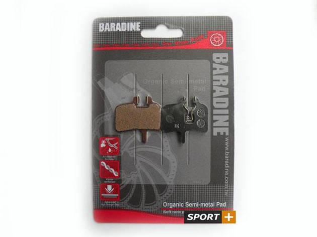Колодки тормозные для дисковых тормозов Baradine DS-01 для Hayes, Promax, фото 2