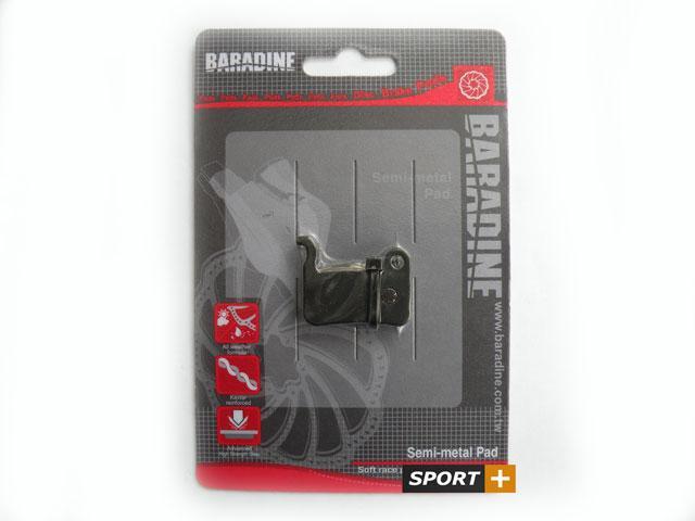 Колодки тормозные для дисковых тормозов Baradine DS-17 для Shimano Hidraulic