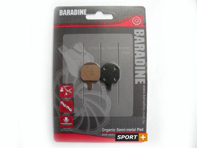 Колодки для дискових гальм Baradine DS-26 для Hayes MX2 Mechanical, фото 2