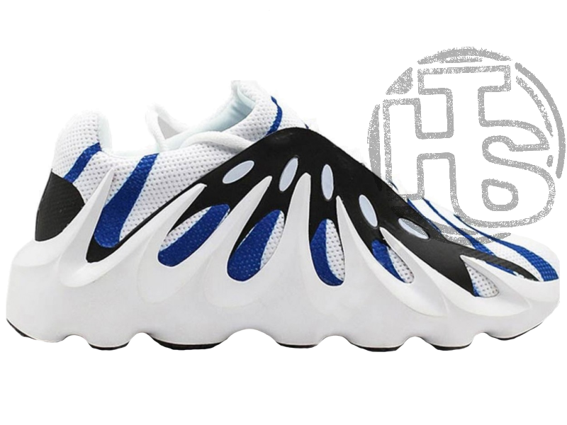 Мужские кроссовки Adidas Yeezy 451 Black White Blue