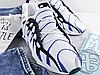 Мужские кроссовки Adidas Yeezy 451 Black White Blue, фото 3