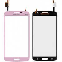 Touchscreen (сенсорный экран) для Samsung Galaxy Grand 2 Duos G7102, оригинал (розовый)