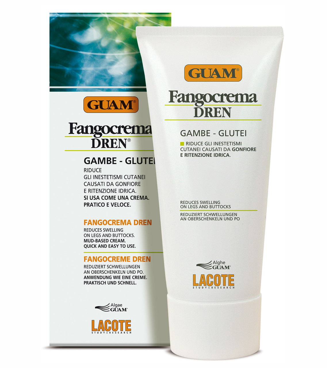GUAM Фанго крем с дренажным эффектом 200 мл