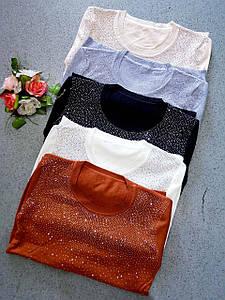 Женский свитер Блеск. Размер универсальный. Фабричный Китай
