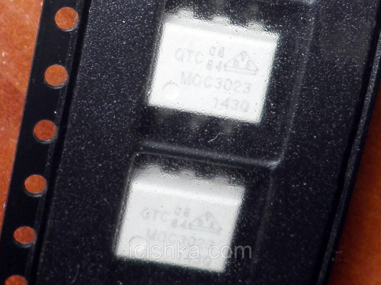 Оптопара оптрон MOC3023 SOP6 - драйвер симистора