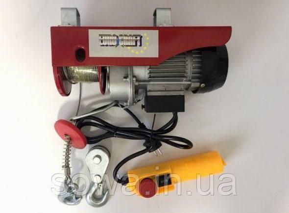 ✔️ Тельфер Euro Craft 150/300kg HJ202  ( 1600 Вт )