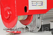 ✔️ Тельфер Euro Craft HJ207  . 400/800kg  . ( 2000 Вт ), фото 3