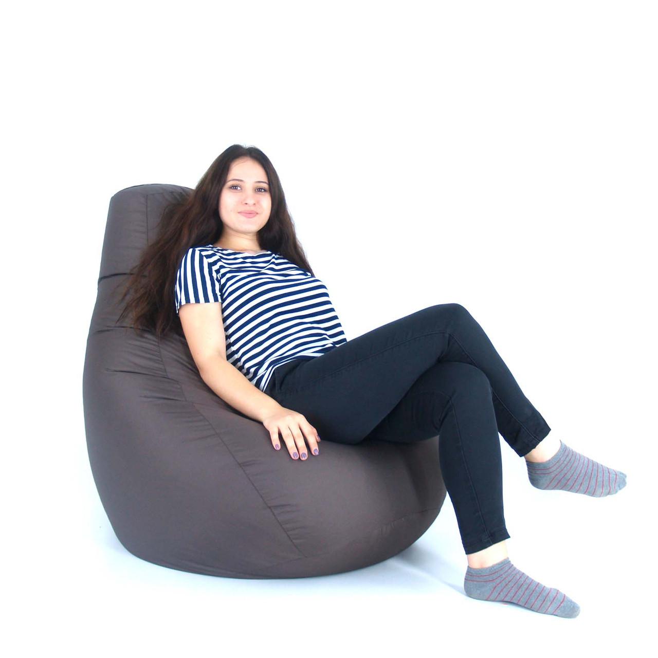Кресло Мешок, бескаркасное кресло Груша от S до XXL