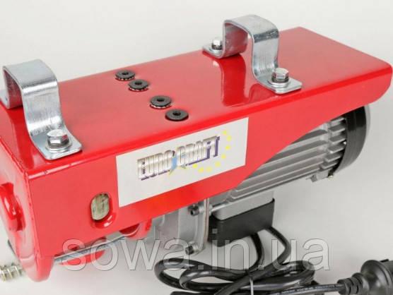 ✔️ Тельфер Euro Craft HJ207 _ Грузоподъемность 400/800kg