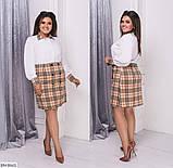 Стильное платье   (размеры 48-58) 0206-47, фото 2