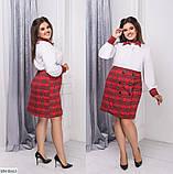 Стильное платье   (размеры 48-58) 0206-47, фото 3